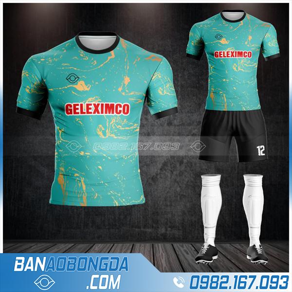 áo bóng đá tập đoàn Geleximco HZ 576 đẹp