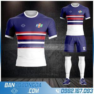 áo bóng đá công ty FPT tự thiết kế HZ 579