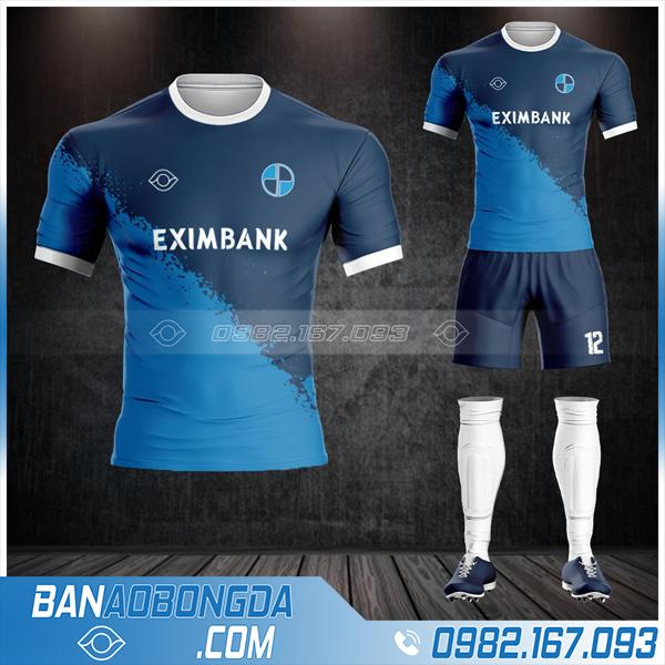 Áo bóng đá ngân hàng Eximbank HZ 582