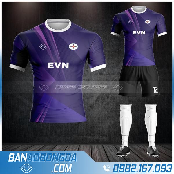 Quần áo bóng đá công ty điện lực EVN HZ 583 mới nhất