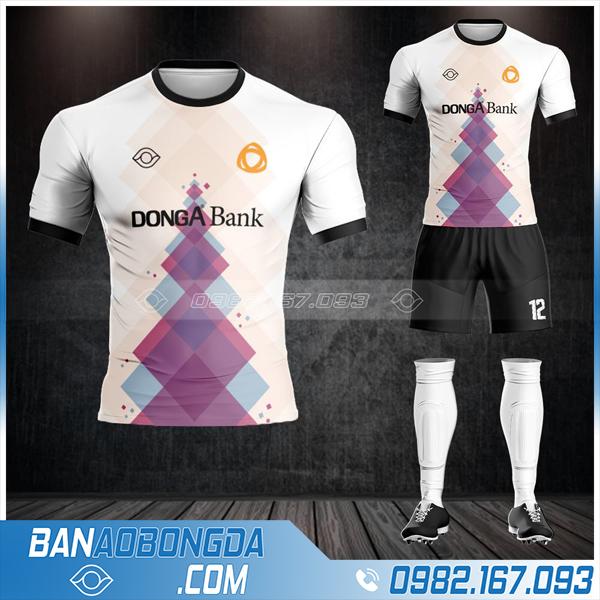 áo bóng đá ngân hàng Đông Á Bank cao cấp HZ 584