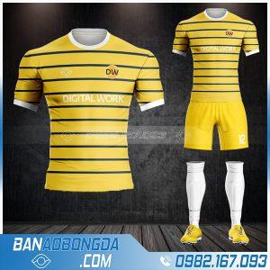áo bóng đá công ty game Digital Works