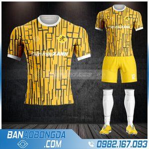 áo bóng đá công ty thế giới di động HZ 587