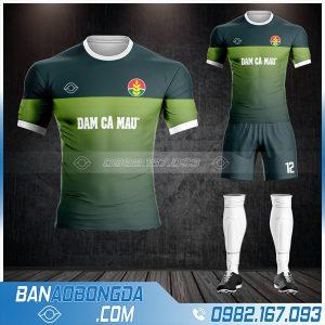 may áo bóng đá công ty Đạm Cà Mau HZ 589 rẻ đẹp