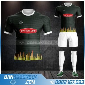 áo bóng đá công ty bảo hiểm Dai - Ichi