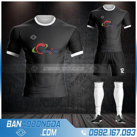 áo bóng đá công ty Cotecons tự thiết kế HZ 591