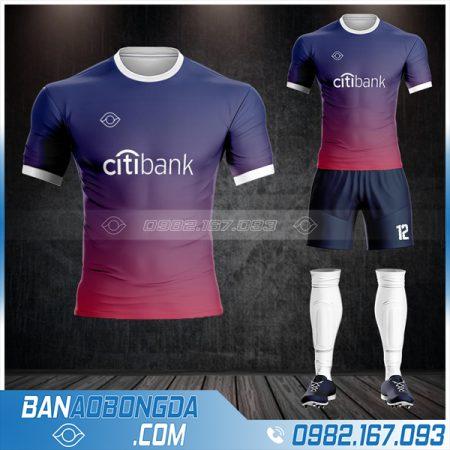 áo đá bóng ngân hàng City Bank HZ 592 siêu chất