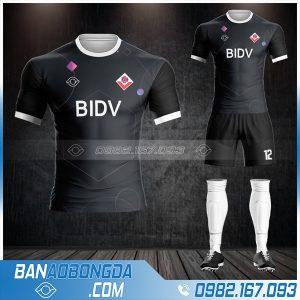 Áo bóng đá ngân hàng BIBV tự chế HZ 594
