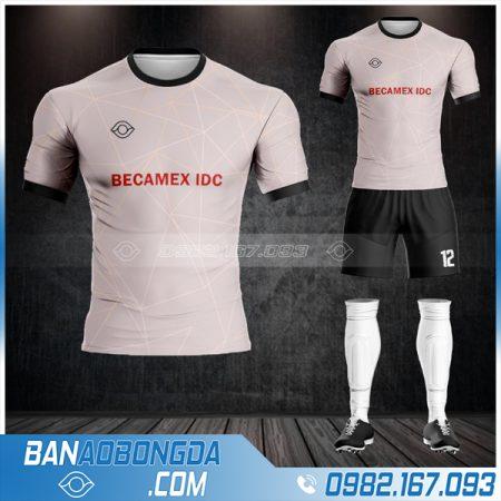 may áo bóng đá công ty Becamex IDC HZ 595