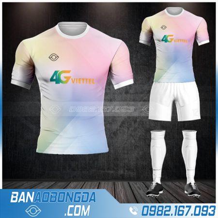 may áo bóng đá công ty đẹp và độc