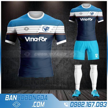 thiết kế áo bóng đá công ty đẹp HZ 601