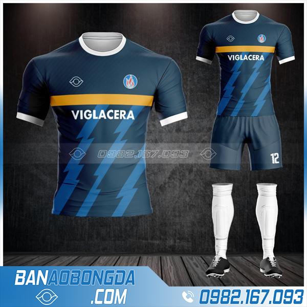 may áo bóng đá công ty Viglacera HZ 602 cực đẹp