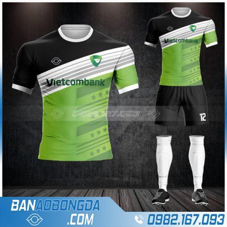 áo bóng đá ngân hàng Vietcombank đẹp HZ 604