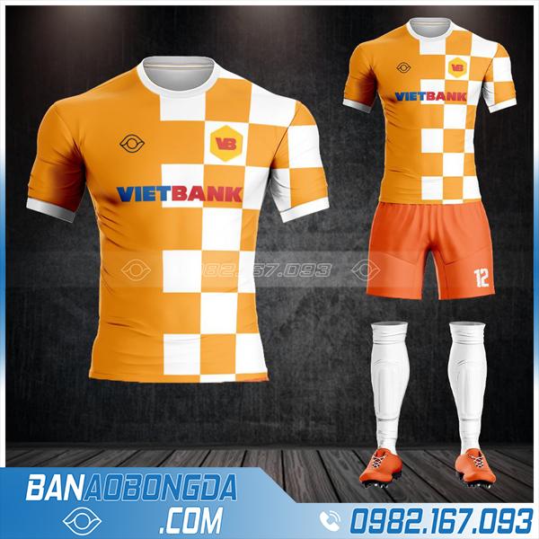 áo bóng đá ngân hàng Vietbank đẹp HZ 605