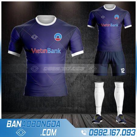 áo bóng đá ngân hàng Viettinbank siêu chất HZ 606