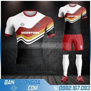 may áo bóng đá công ty Viscostone HZ 607 cực đẹp