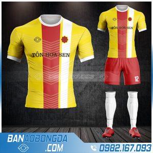 thiết kế áo đá bóng công ty Tôn Hoa Sen HZ 610