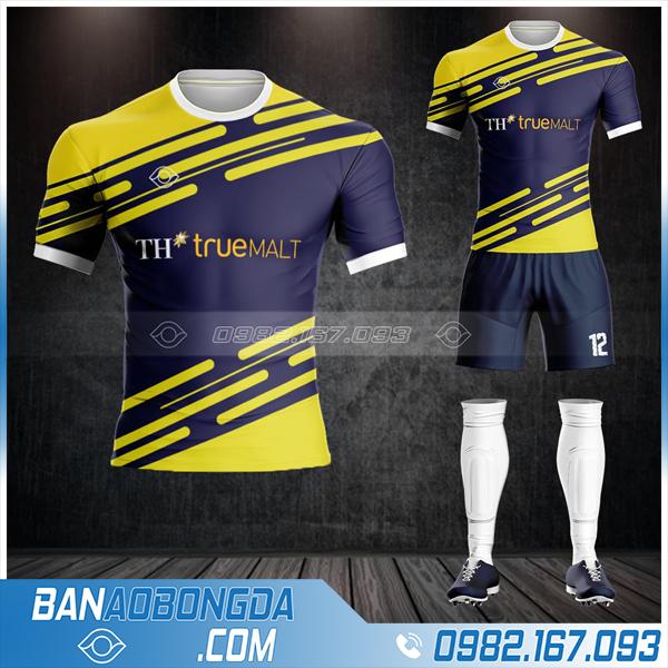 áo đấu bóng đá TH True Milk cực lạ HZ 613