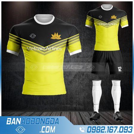 quần áo bóng đá Vietnam Airlines màu vàng