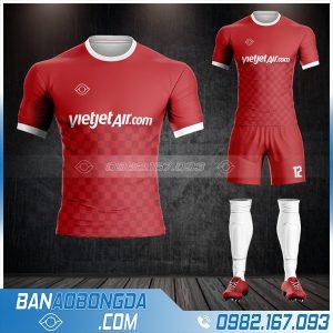 Áo đá banh công ty Vietjet tự thiết kế