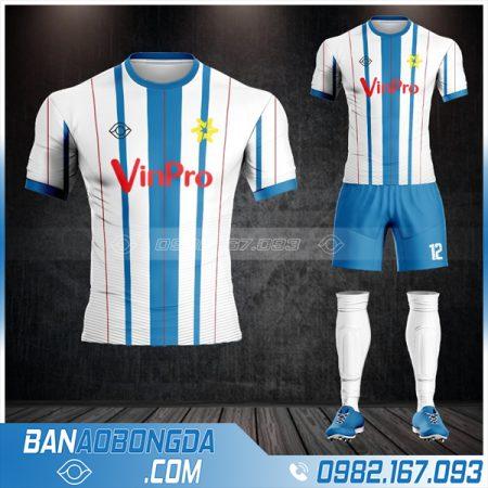 thiết kế áo bóng đá công ty Vin Pro đẹp HZ 625