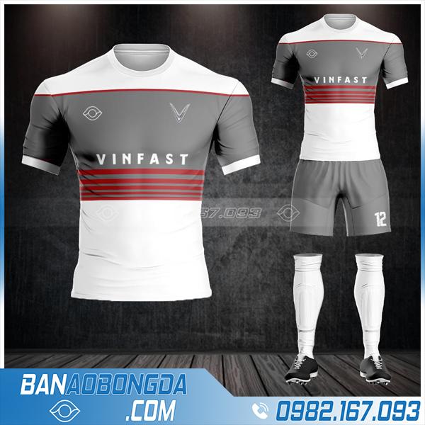 may áo đá bóng công ty Vin Fast HZ 633 giá rẻ