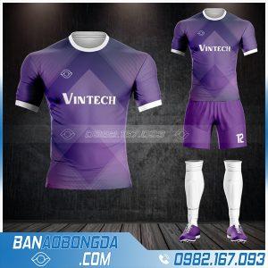 Áo đấu bóng đá công ty Vintech tự thiết kế HZ 645