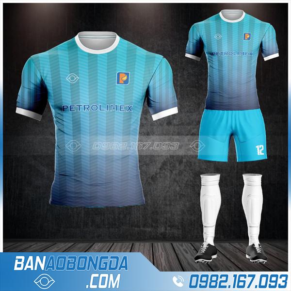 quần áo đá bóng công ty Petrolimex HZ 656