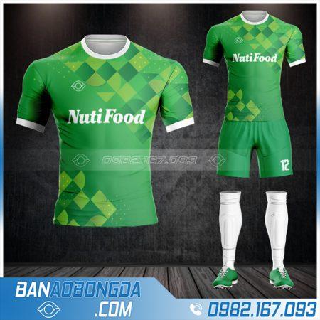 quần áo bóng đá công ty NutiFood HZ 660