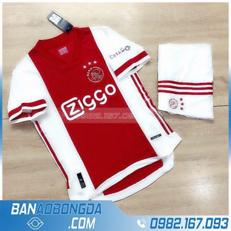 Áo Ajax 2021 sân nhà màu đỏ mới nhất