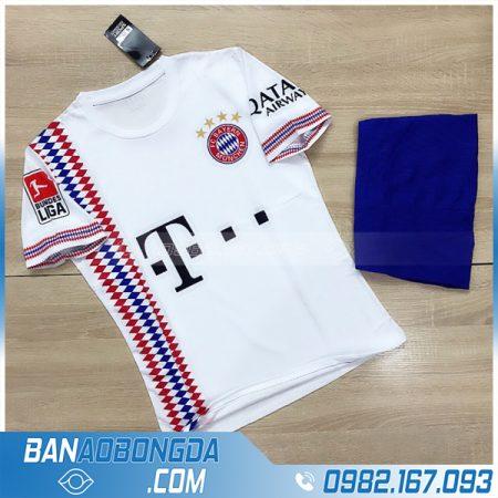 áo bóng đá Bayern Munich màu trắng mới nhất