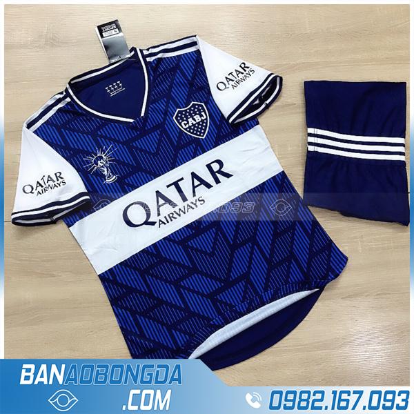 áo bóng đá CABJ màu xanh dương siêu hot