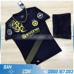 Áo CLB Dortmund tự chế màu đen cực chất