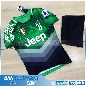 Áo đấu Juventus training màu xanh lá mới nhất