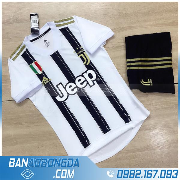 Áo clb Juventus 2021 training màu trắng giá rẻ