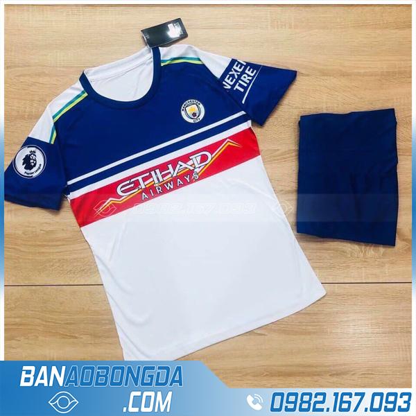 Quần áo bóng đá Man City màu trắng siêu chất