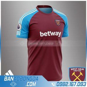Áo bóng đá Westham tự thiết kế