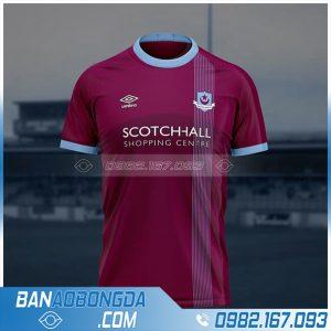 áo đấu bóng đá thiết kế HZ 689 màu bã trầu