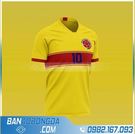 Áo bóng đá Colombia tự thiết kế