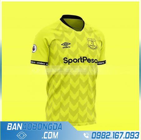 Áo đấu Everton tự thiết kế màu vàng
