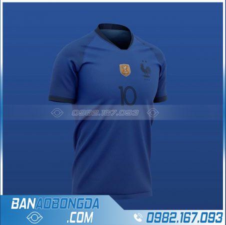 áo đội tuyển Pháp tự thiết kế HZ 708