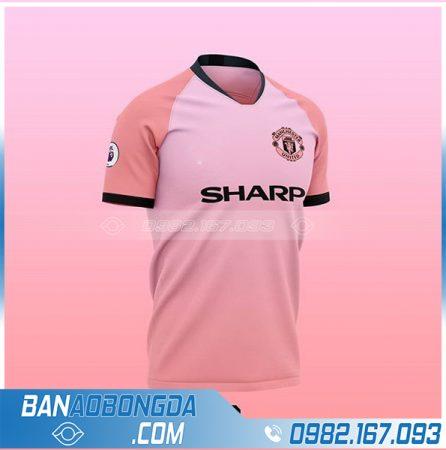 Áo Manchetser United màu hồng thiết kế