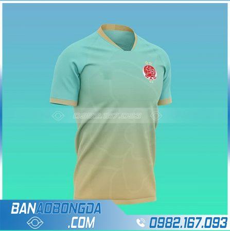 áo đá banh tự thiết kế HZ 725 giá rẻ