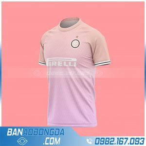 Áo Inter Milan 2021 tự chế HZ 726 màu hồng