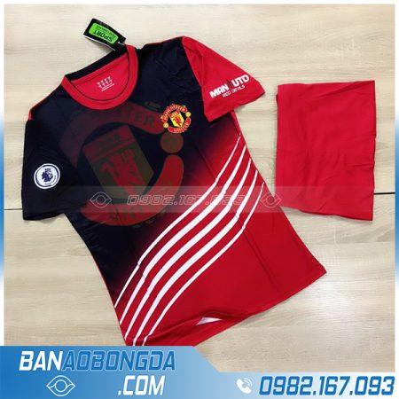 Áo CLB MU màu đỏ tự thiết kế