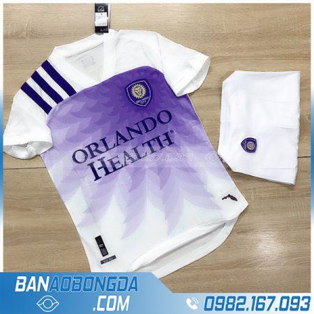 Áo bóng đá Orlando city màu trắng tím