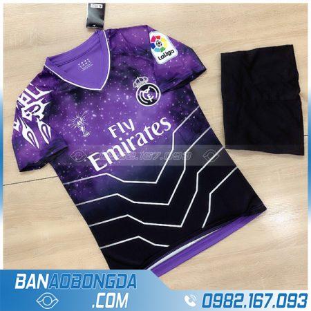 Áo Real Madrid 2021 màu tím mới nhất