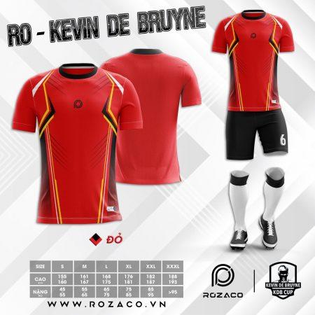 áo đá bóng không logo chế màu đỏ đẹp