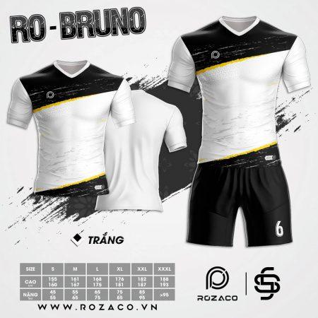 Áo đá bóng không logo màu trắng đẹp