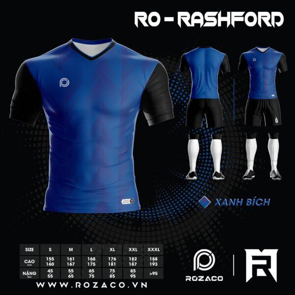 Áo bóng đá không logo cao cấp Rashford HZ 738
